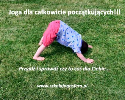 joga dla początkujących bielany